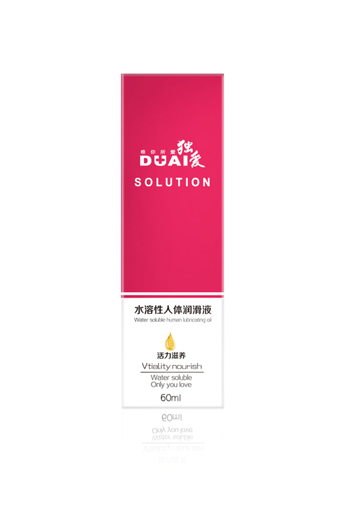 DUAI Solution Water-Based Lubricant Sexual Enhancers 4 Styles 2.02oz