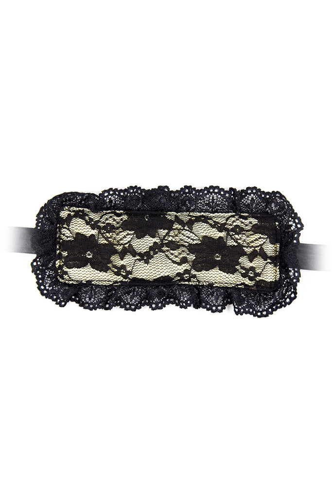 Lace Handcuffs with Blindfold