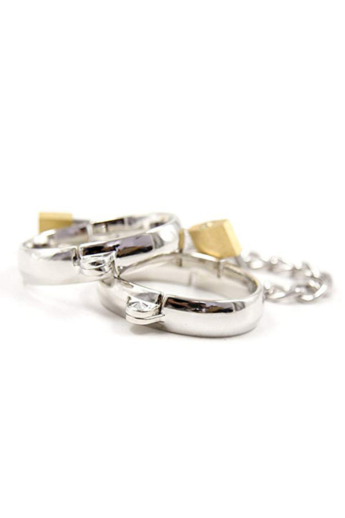 Metal Wrist and Ankle Cuffs for Women or Men's Choices