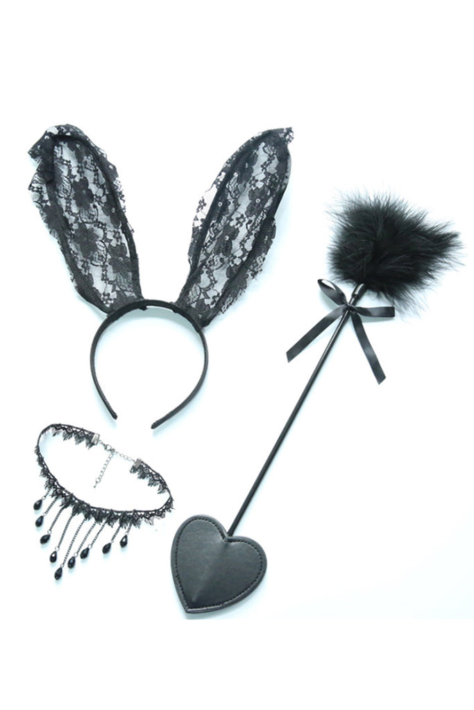 Bunnygirl Roleplay Costume Accessories 2PC Set