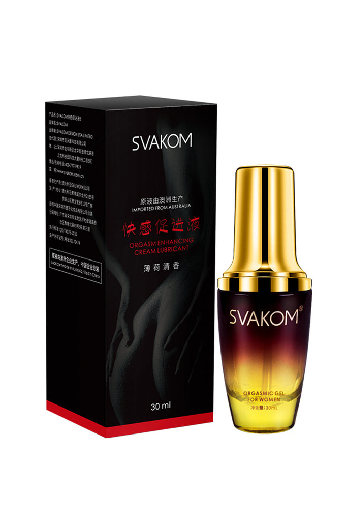 SVAKOM Women's Natural Orgasmic Gel and Package 30mL