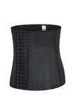 Black Nude Waist Cinching Bustier 25 Steel Boned