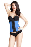 Corset Natural Latex Waist Cincher 9 Steel Boned