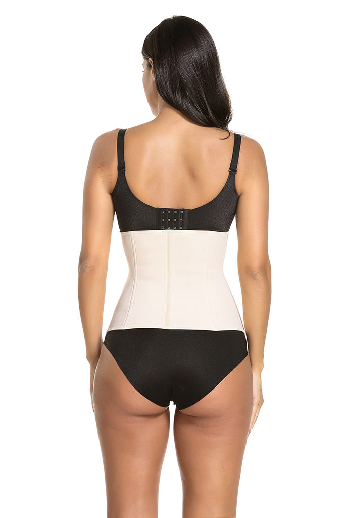 Ultra Sweat Neoprene Waist Clincher Sport Trainer with Zipper and Hooks 9 Steel Boned