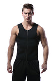 Men's Zip Up Neoprene Waist Trainer Vest