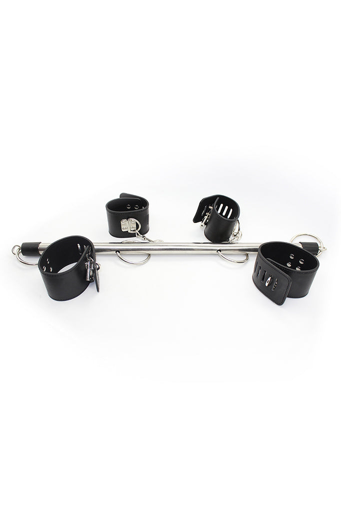 Spreader Bar with Leather Cuffs