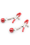 Strawberry Bell Nipple Clamps
