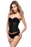 Waist Training Mesh Cincher Corset White Black