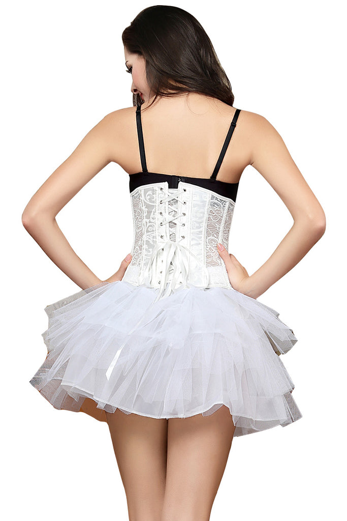 Waist Training Mesh Cincher Corset