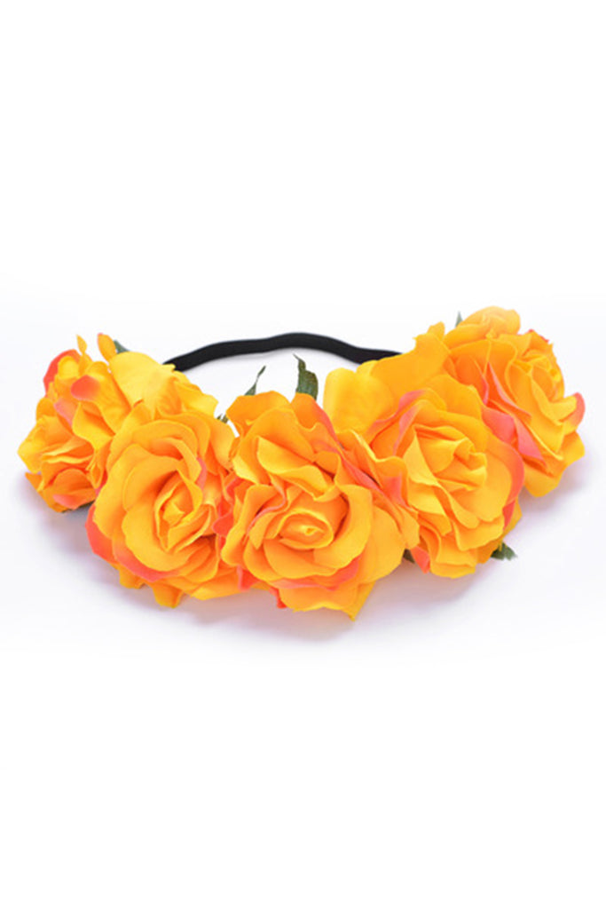 Rose Flower Crown Perfect Lingerie Accessory