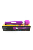 Rechargeable Wand Massager Vibrator with European Plug