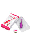 Remote Control Waterproof Rechargeable Slender Love Egg Vibrator