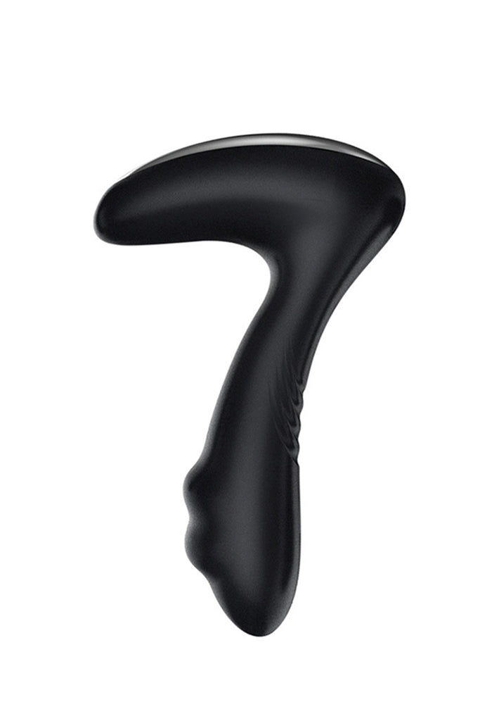 Remote Control Rechargeable Prostate Massager Black