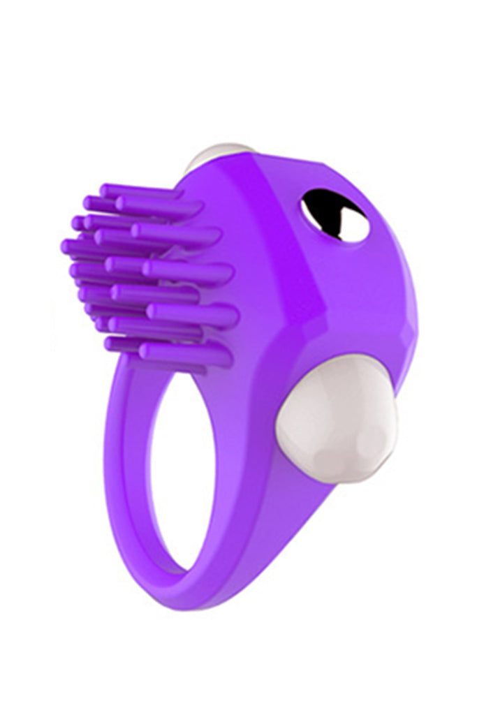Stretchy Pocket Penis Ring with Detachable Bullet Vibrator