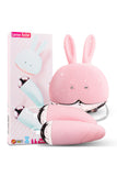 Double Bullet Vibrator Love Egg with Rabbit Shaped Wired Remote Controller