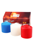 Natural Fragrance Low Temperature Candles for SM Pack of 3