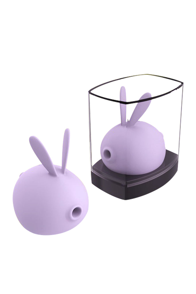 KISS TOY Rabbit Shaped Rechargeable Clitoral Stimulator