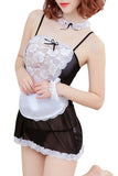 Fantasy French Maid Roleplay Costume