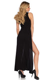 V Neck Long Nightdress