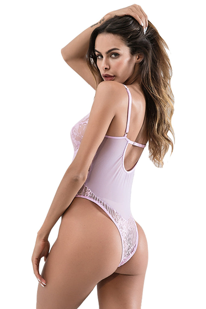 Sexy Lace Bodysuit for Women One Piece Bodysuit Lingerie