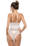 Women's One Piece Teddy Lace Babydoll Bodysuit Sexy Lingerie Shapewear