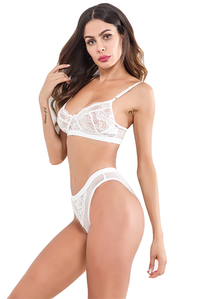 Women's lace Bra and Panties Set