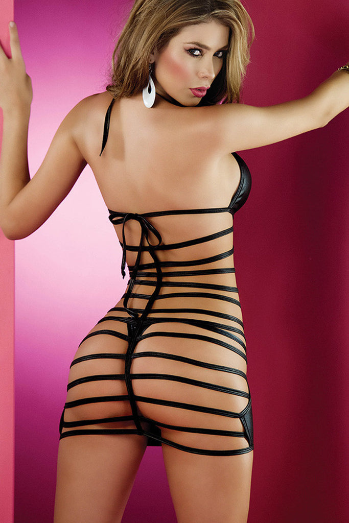 Porno Lingerie Sexy Women Babydoll Underwear Leather Erotic Porno Lingerie Sex Costumes Erotic Dress Sex Clothes Dance Clubwear