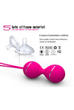 7 Speed Remote Control Kegel Ball Vaginal Tight Exercise Vibrating Eggs Geisha Ball Ben Wa Balls Dual Vibrator Sex Toy for Women