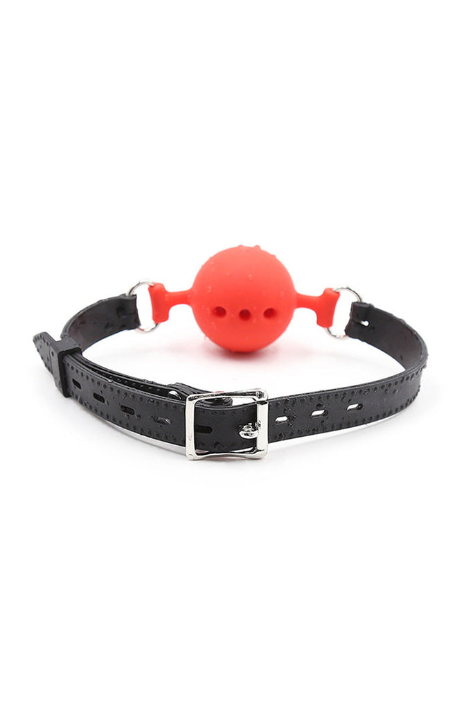 Couple Silicone Gag Ball BDSM Bondage Restraints Open Mouth Breathable Sex Ball