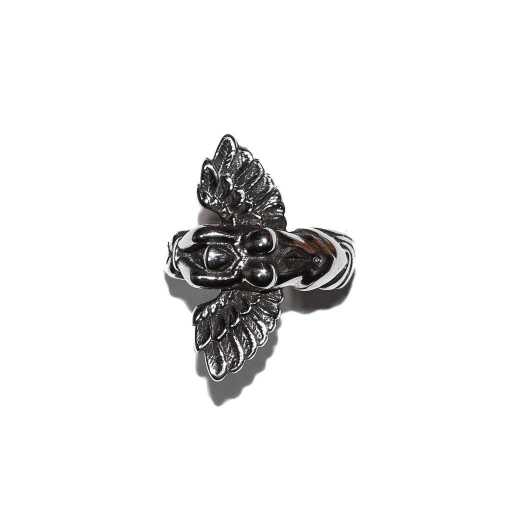 Winged Goddess Ring (Stainless Steel)