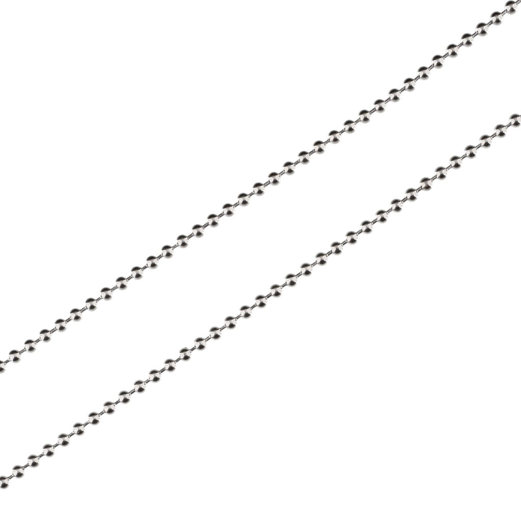 2mm Ball Chain (.925 Sterling Silver)