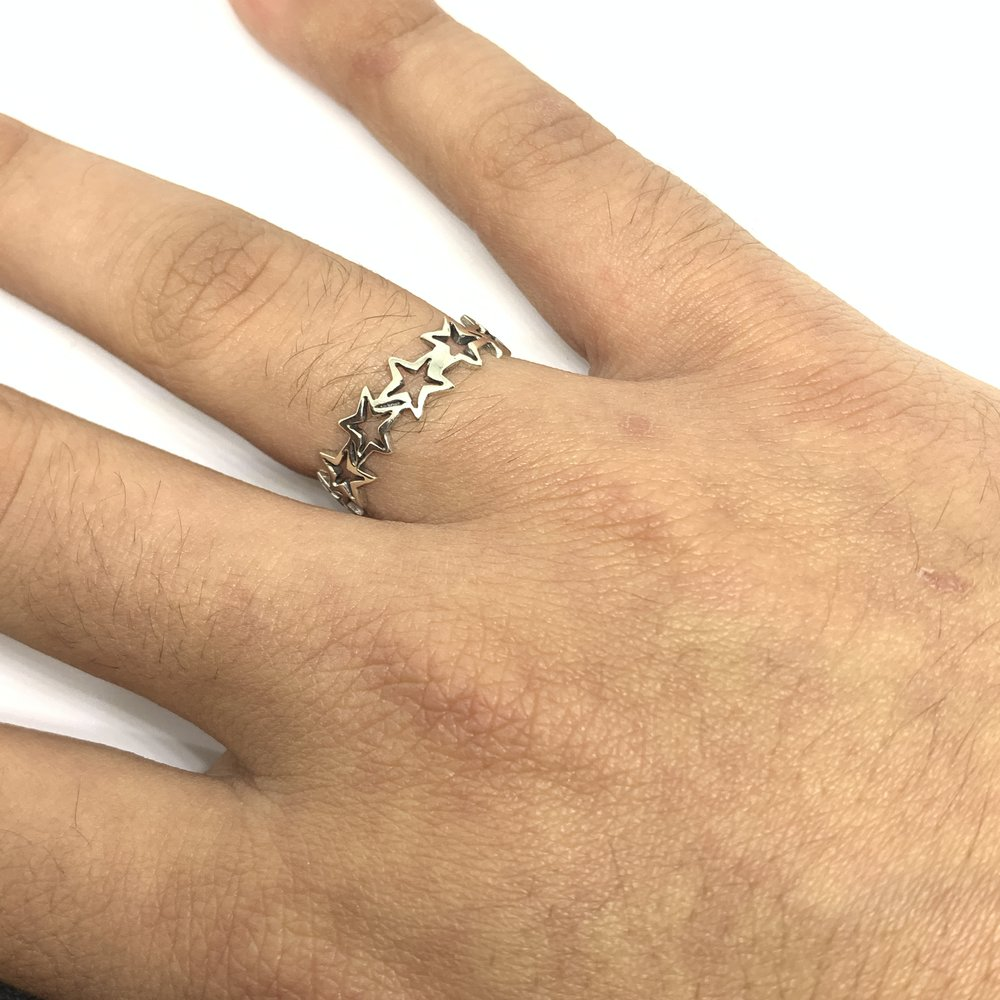 Star Ring (Sterling Silver) - Kuyashii Jewelry