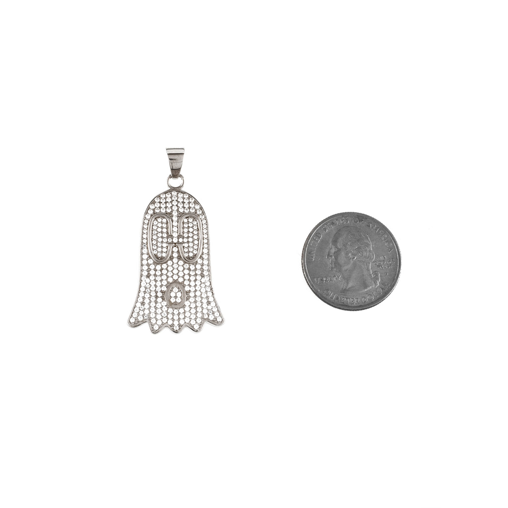 GG Ghost Pendant (.925 Sterling Silver)