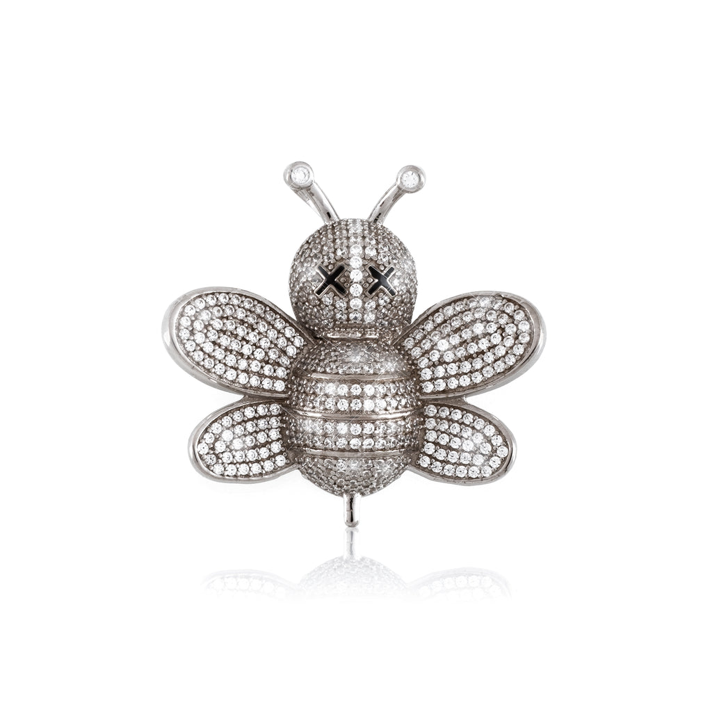 SS19 Bee Pendant (.925 Sterling Silver)
