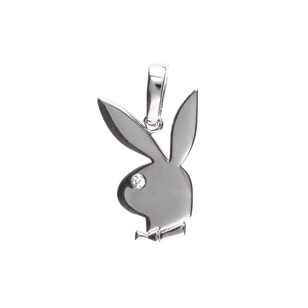 Playboy Pendant (.925 Sterling Silver)