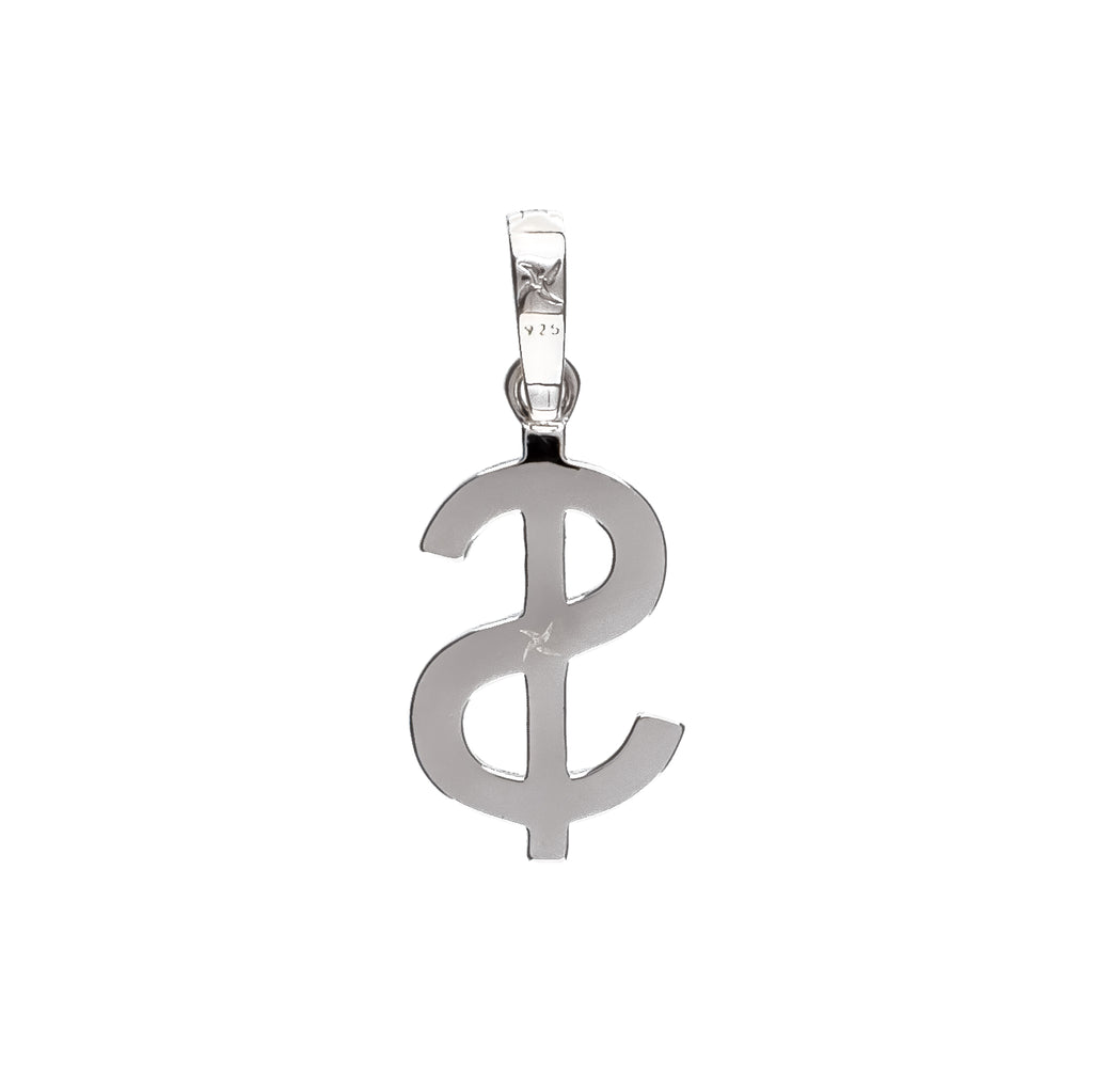 USD Pendant (.925 Sterling Silver)