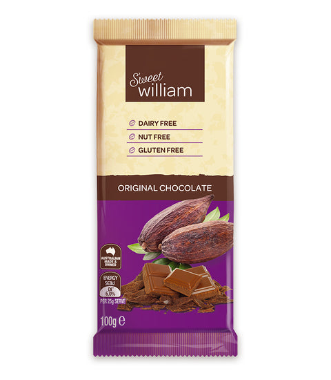 Sweet William Original Chocolate - 100g
