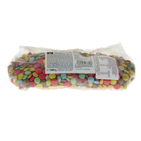 Clarana Candy Coated Chocolate Buttons - 1kg