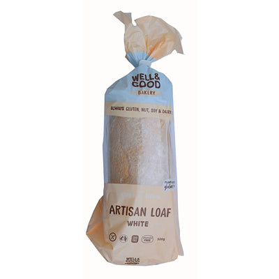 Well & Good Artisan White Loaf - 500g (not currently available in NZ)