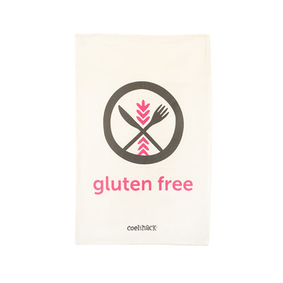 Coelihack Gluten Free Icon Tea Towel