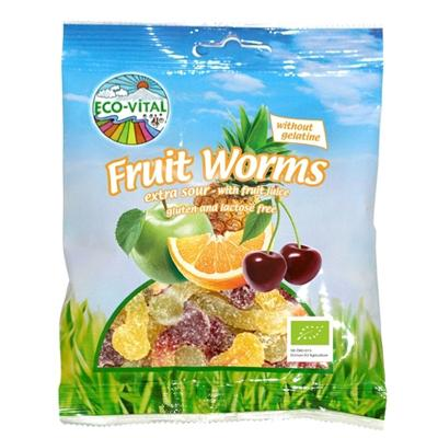 Eco Vital Fruity Sour Snakes - 100g - GF Pantry