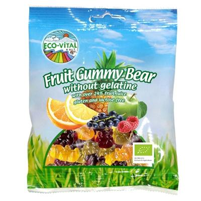 Eco Vital Fruit Gummy Bear - 100g - GF Pantry