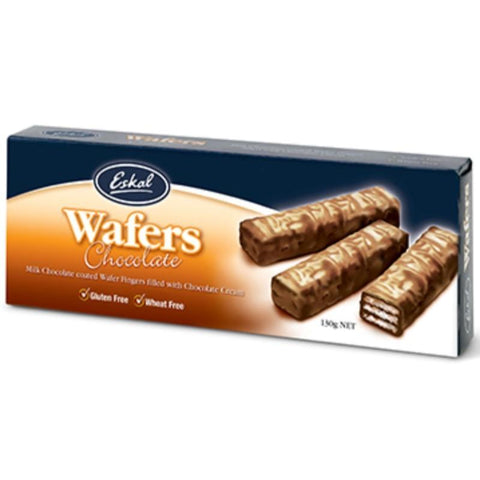 Eskal Chocolate Coated Wafers - 130g - GF Pantry