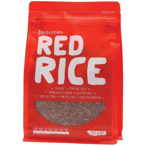 Forbidden Red Rice - 500g - GF Pantry