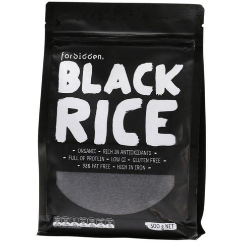 Forbidden Black Rice - 500g - GF Pantry