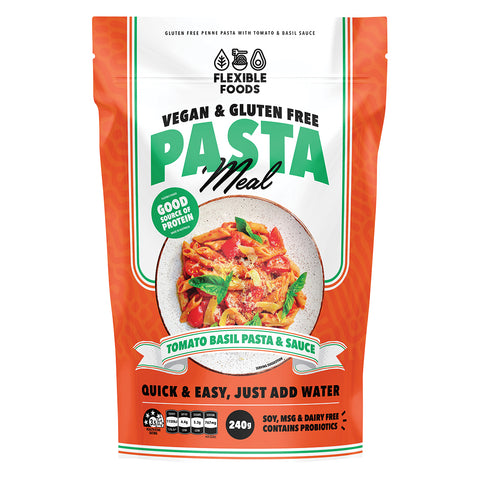 Flexible Foods Tomato & Basil Pasta Meal 240g
