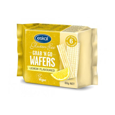 Eskal Grab N Go Lemon Wafers - 30g
