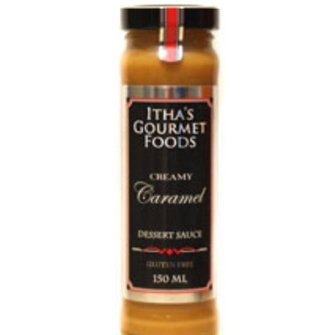 Itha's Puddings Creamy Caramel Dessert Sauce - 150ml - GF Pantry