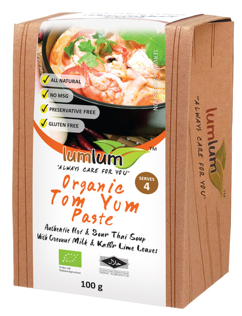 Lumlum Organic Tom Yum Paste - 100g