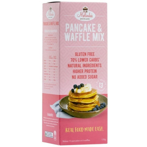Melinda's Lower Carb Pancake & Waffle Mix - 170g - GF Pantry